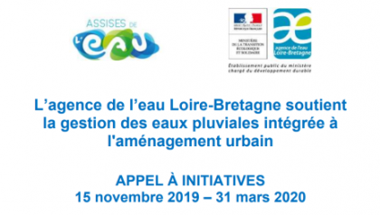 Agence de l'eau - Appel à initiatives