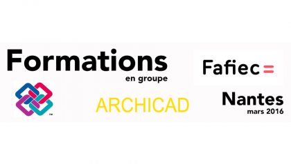 Formations en GROUPE ARCHICAD