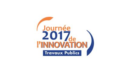 Logo journée 2017 de l'innovation/ travaux publics