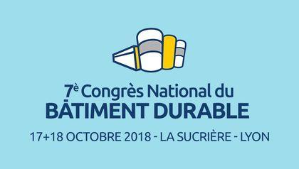Congrès National Batiment Durable