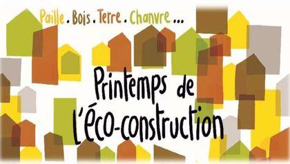 Printemps de l'éco-construction 2018