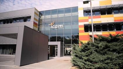 Visite des installations photovoltaïques à l'ICAM