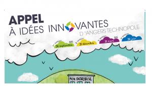 Appel à idées innovantes d'Angers Technopole jusqu'au 30 juin.