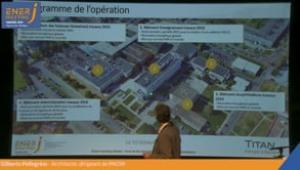 Réhabillitation de bâtiments d'enseignement en site occupé, Le Mans Université