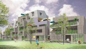 le projet qui intègre le passif aux logements évolutifs : Origine