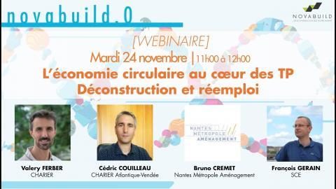 L'économie circulaire au cœur des TP | Retour d'expérience : Déconstruction et réemploi