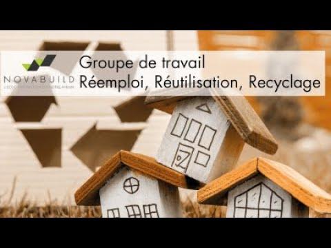 Lancement Groupe de travail Réemploi Réutilisation Recyclage